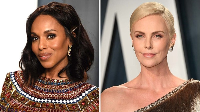 KERRY WASHINGTON E CHARLIZE THERON NEL CAST DI THE SCHOOL FOR GOOD AND EVIL