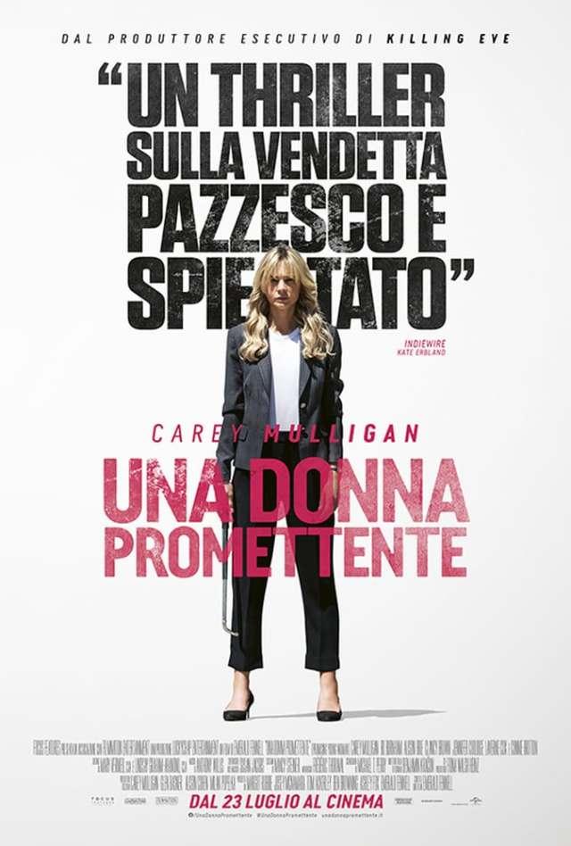Una donna promettente poster locandina