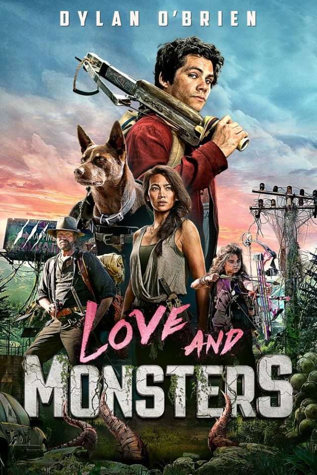 Love and Monsters poster locandina
