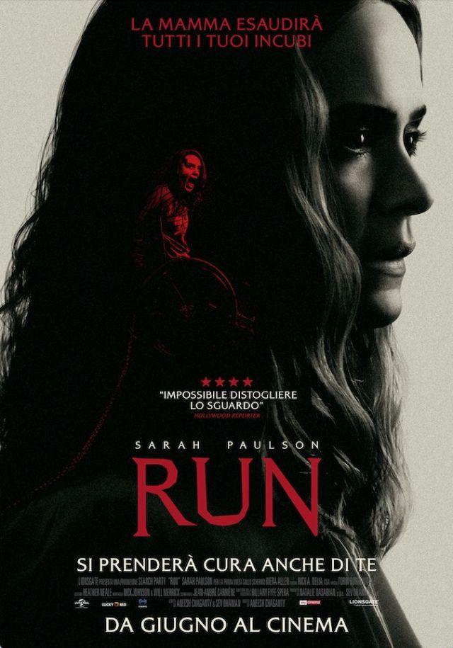 Run (2020) poster locandina
