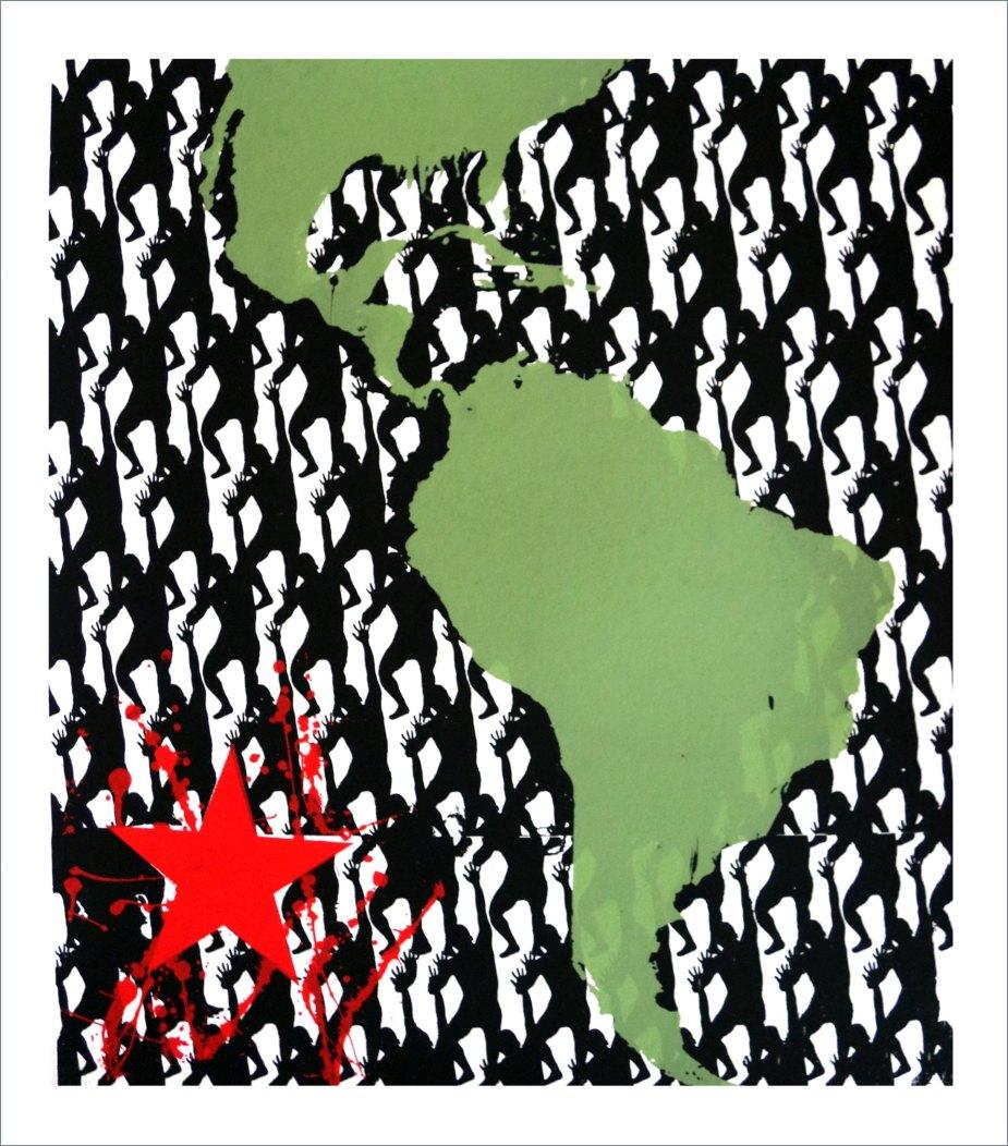DIARIOS IX/X - Sur America - Screen printing - (Ascanio Cuba)