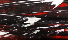 Climbing - Mix on canvas - Detail - (Ascanio Cuba)
