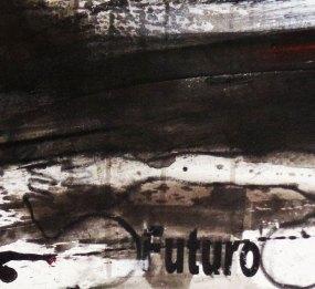 Climbing - Mix on canvas - Detail - (Ascanio Cuba)