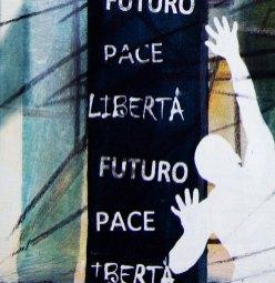 LUCE - Mix on canvas - Detail - (Ascanio Cuba)