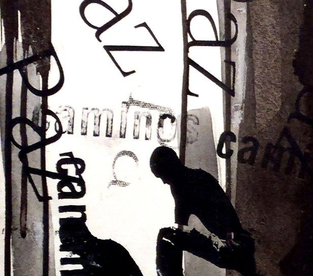 Untitled (Triptych) - Mix on canvas - Detail - (Ascanio Cuba)
