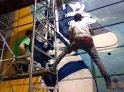 EL PURTAVA I SCARP DEL TENNIS - Murales - Detail - (Ascanio Cuba)
