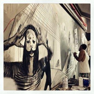 FUSION - Murales - Detail - (Ascanio Cuba)