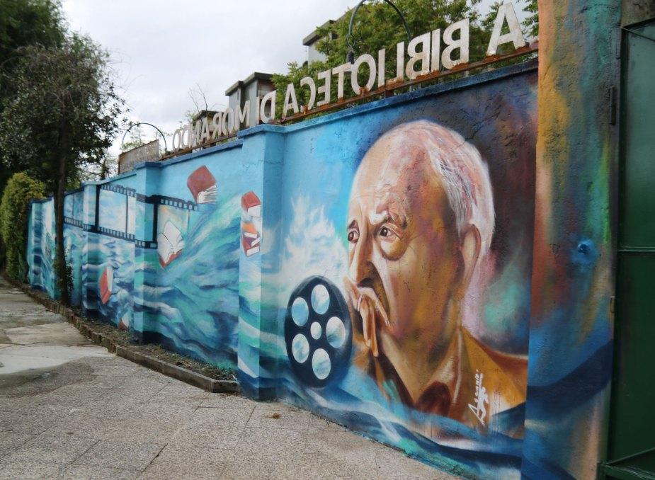 LA BIBLIOTECA DI MORANDO - Murales - (Ascanio Cuba)