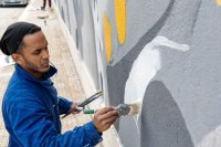 OVER THE CHALLANGES - Murales - Detail - (Ascanio Cuba)