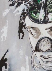 BREATHING HOPE - Mix on canvas - (Ascanio Cuba)