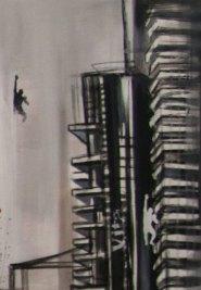 LEGATI PER LA VITA - Mix on canvas - (Ascanio Cuba)