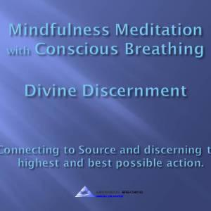 Mindfulness Meditation-Divine Discernment@0916