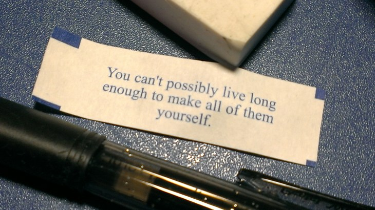 An ominous fortune cookie