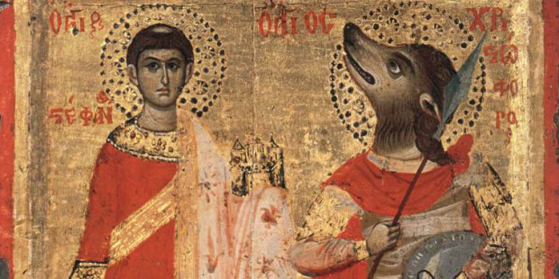 Bet you didn't know St. Christopher originally had a dog's head, did you?