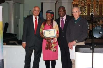 Congratulations to our newly graduated Haringey Street Pastors