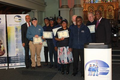 Congratulations to our newly graduated Southwark Street Pastors
