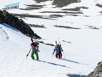 Lyngen summer ski