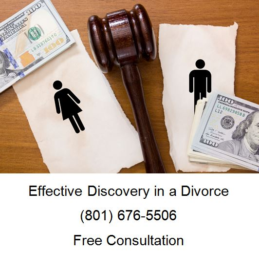 effective discovery in a divorce