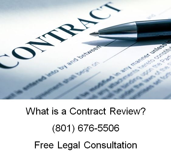 what is contract review