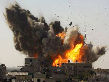 israeli bombs