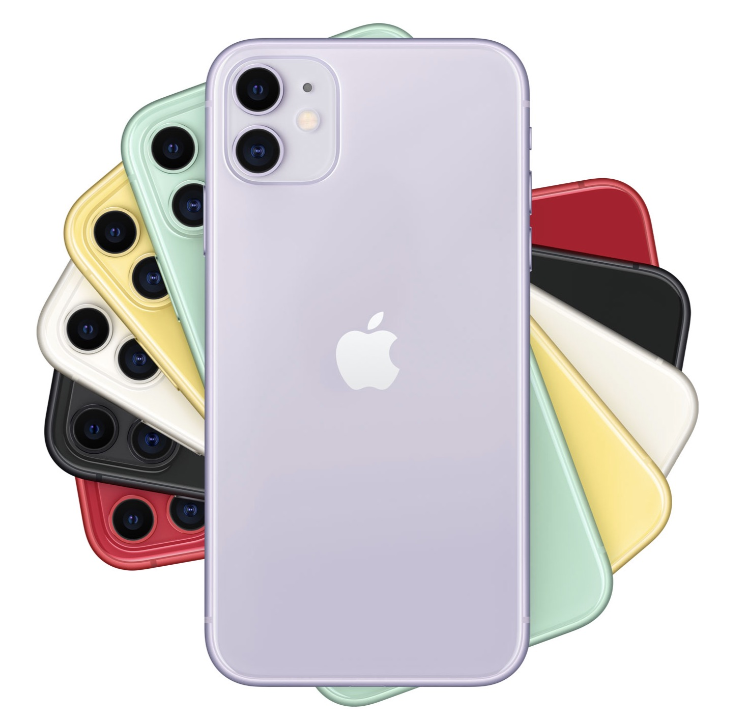 iPhone 11 Color Spiral