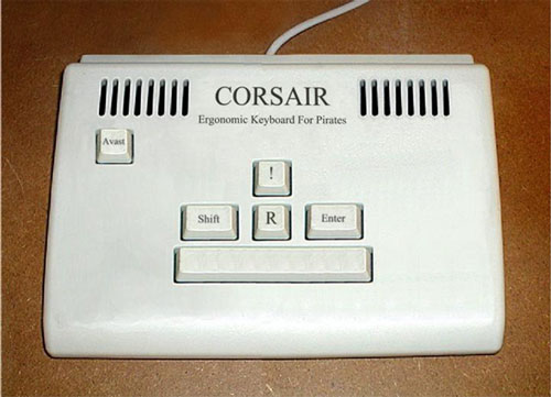 Corsair pirate keyboard