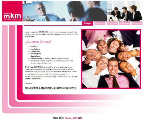 MKM - Diseño web a medida