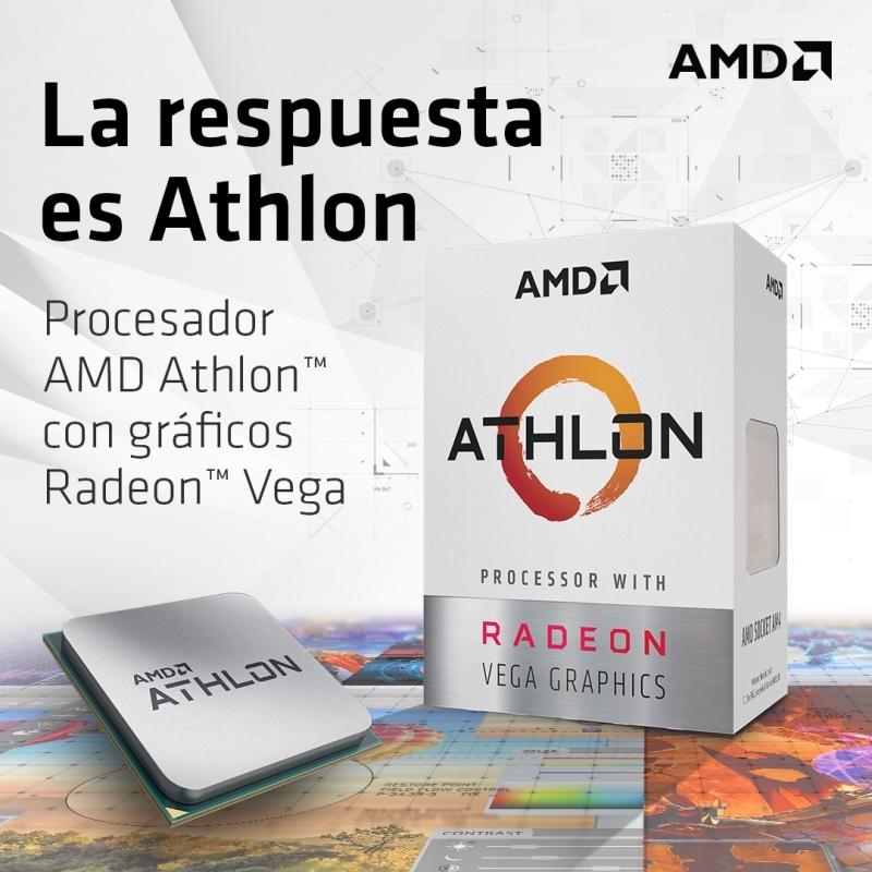 ordenador económico, barato, para casa, doméstico con AMD Athlon Vega.