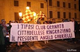 La passione di una città, il ringraziamento al presidentissimo Angelo Gabrielli
