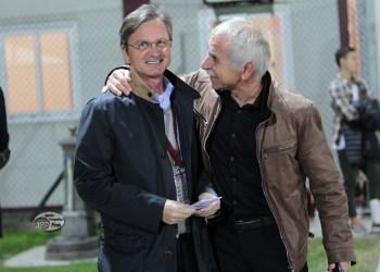 Il Presidente Andrea Gabrielli con Giuseppe Bergamin