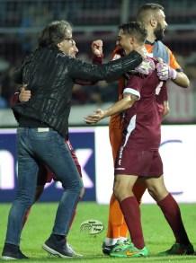 Marchetti esulta con Salvi, Paolucci e Alfonso