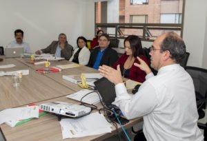 Encuentro de la Junta Directiva Nacional Ascofade. Marzo de 2018