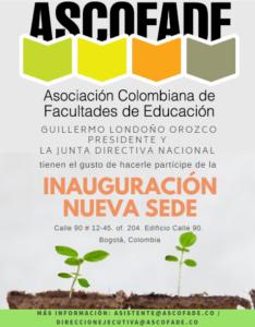 Participación Inauguración Nueva Sede ASCOFADE