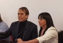 Andrea Cangini e Jessica Marcozzi, foto ufficio stampa