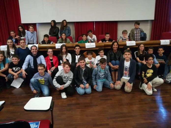 Il consiglio comunale dei ragazzi di Ascoli
