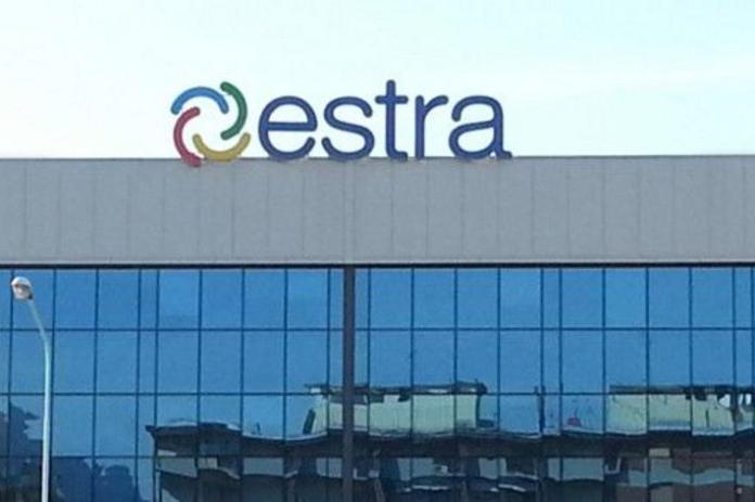 La sede di Estra Spa