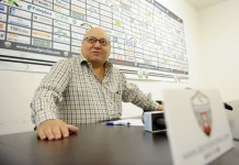 Il presidente Francesco Bellini, foto sito ufficiale Ascoli Picchio