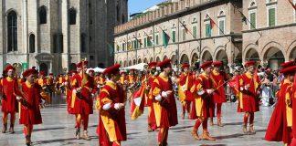 Un'immagine della Quintana di Ascoli, foto da Wikipedia