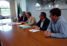 La conferenza stampa in Regione per la presentazione delle iniziative in favore di Acquasanta e Arquata