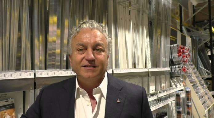 L'imprenditore Massimo Pulcinelli, foto da YouTube