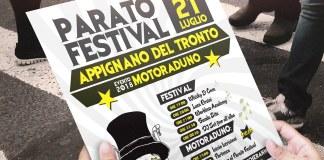 Il programma del Paratò festival di Appignano del Tronto
