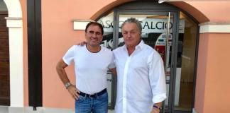 Giuliano Tosti e Massimo Pulcinelli, foto da pagina Facebook ufficiale