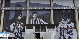 Lo stadio Del Duca di Ascoli