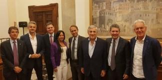 I presenti all'incontro nazionale di Forza Italia dedicato alle Marche