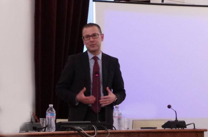 Il presidente della Provincia di Ascoli Paolo D'Erasmo