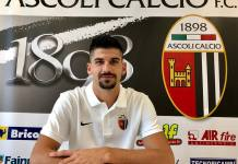 Riccardo Brosco, foto da pagina Facebook Ascoli Calcio