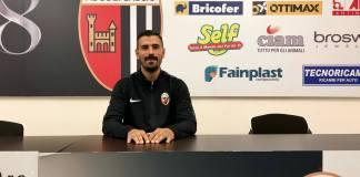 Salvatore D'Elia, foto da pagina Facebook ufficiale Ascoli Calcio