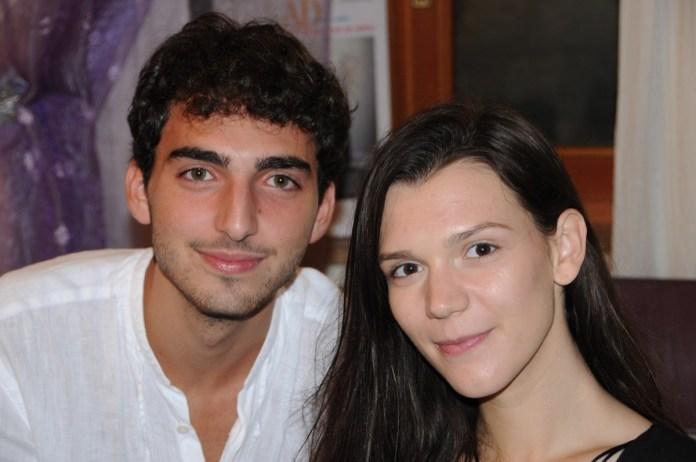 Il tenore ascolano EMANUELE NORI (19 anni) e il mezzosoprano rumeno ANDRA MARIA BARBUL (21 anni)
