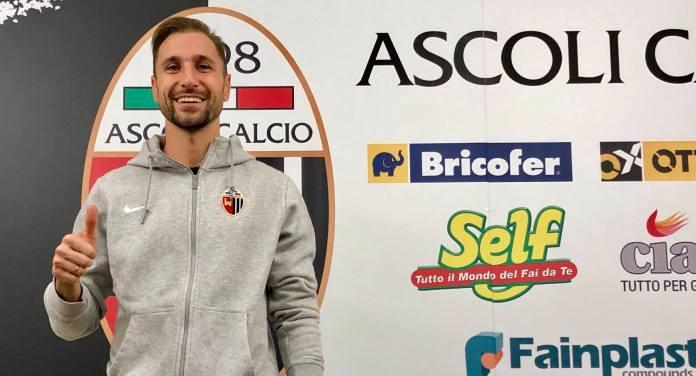 Nahuel Valentini, Ascoli Calcio