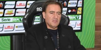 Il presidente dell'Ascoli Giuliano Tosti, foto da pagina Facebook ufficiale Ascoli Calcio Fc 1898